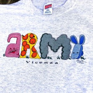🆕List! ARMY Vincenza, Italy Tee! VGUC!
